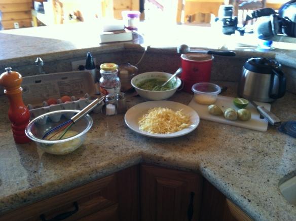 Omelet fixings
